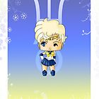 Chibi Sailor Uranus by artwaste