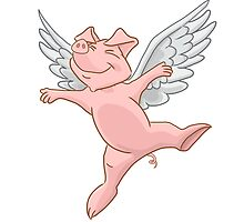 Flying Pig by Lorna Mulligan