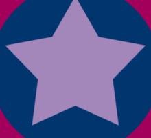 Captain America Pride (bisexual edition) Sticker