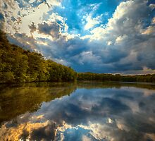 Clouds in the water by radonracer