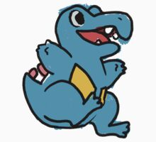 CUTE TOTODILE - STICKER by Iris-sempi