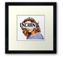 Delphine - Enchanté Framed Print