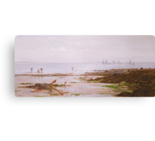 Cornish Shrimpers Canvas Print