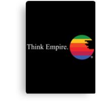Think Empire Canvas Print