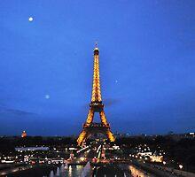 Eiffel night by eliso silva