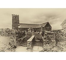 Parish Church of Saint Materiana at Tintagel Photographic Print