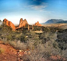 Garden of the Gods - Colorado Springs by Michael Newell