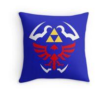 Hylian Shield - Legend of Zelda Throw Pillow
