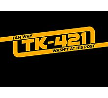 TK-421 Photographic Print