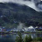 Dornie in the Highlands by hans p olsen