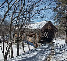 Henniker Covered Bridge by CarolColaianni