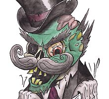 """Like a Sir"" Zombie by HarWalt"