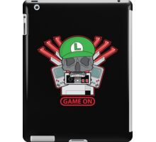 Game On Skull (L) iPad Case/Skin