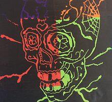 Bright Skull by billyfalcon