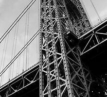 George Washington Bridge by Amanda Vontobel Photography