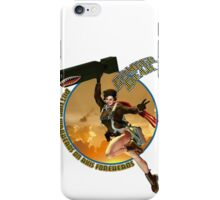 Bomber Dear - Putting Warheads on Axis Foreheads iPhone Case/Skin