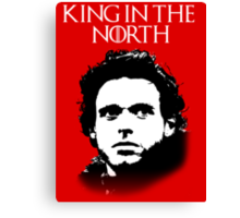 Game of Thrones: Robb Stark - King in the North Canvas Print