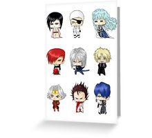 Anime Psychos Greeting Card