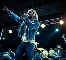 Koolant Brown, The Wailers by Natalie Ord