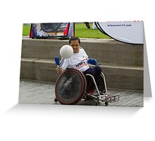 London Mayor joins international stars to officially launch World Wheelchair Rugby Challenge Greeting Card