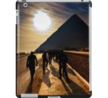Footsteps of the Ancients - The Great Pyramid iPad Case/Skin