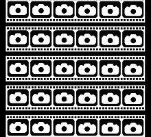 35mm Flim strips graphic by Phillip Shannon