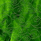 Green swirls by TatiPatti