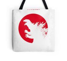 No029-1 My Godzilla 1954 minimal movie poster Tote Bag