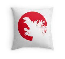 No029-1 My Godzilla 1954 minimal movie poster Throw Pillow