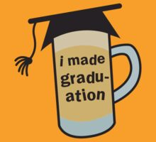 I MADE GRADUATION in a pint beer glass with mortar board hat by jazzydevil