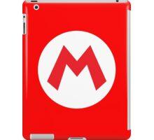 Original Mario Emblem iPad Case/Skin