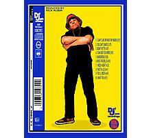"""LL COOL J: RADIO (BACK COVER ARTWORK)"" Photographic Print"