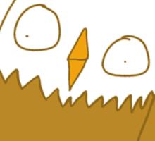 Dumb Bald Eagles Sticker