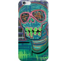 Psychedelic Skull iPhone Case/Skin
