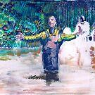 Delmar's Baptism by Seth  Weaver