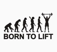 Evolution weightlifting by Designzz