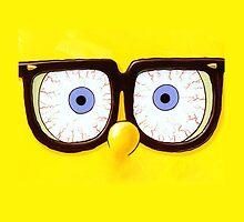 Spongebob Glasses Phone Cases by zeeshanahmad88
