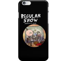 REGULAR SHOW (white) iPhone Case/Skin