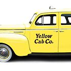 NYC Yellow Taxi Cab by Edward Fielding