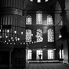 Prayer at Sultanahmet Mosque by Jens Helmstedt