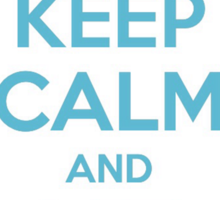 Keep Calm and Let It Go - Frozen Sticker