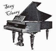 Stay classy  by MadLibb