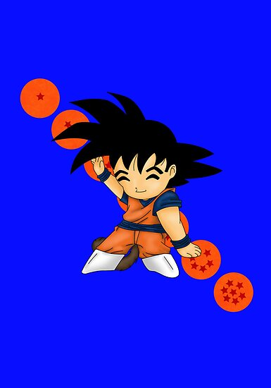 Dancing Goku by artwaste