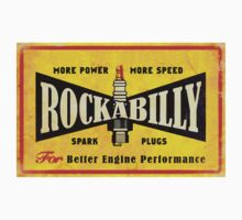 Champion Rockabilly Spark Plugs by Coupecustoms