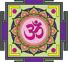 Om Mandala by GalacticMantra
