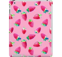 Pink Strawberry Pop iPad Case/Skin