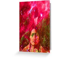 Ghost of Sitting Bull Greeting Card