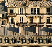 Paris Roof Tops - A Close Up - 2 © by © Hany G. Jadaa © Prince John Photography