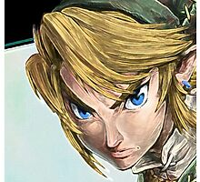 Link-Legend of Zelda by rosaesposito