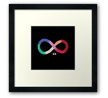 Infineight Framed Print